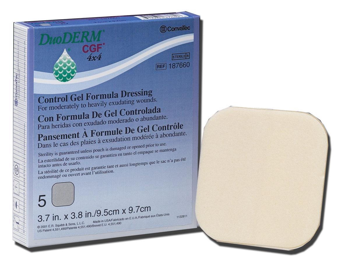 Image Of Duoderm Cgf Dressing, Size 8x8