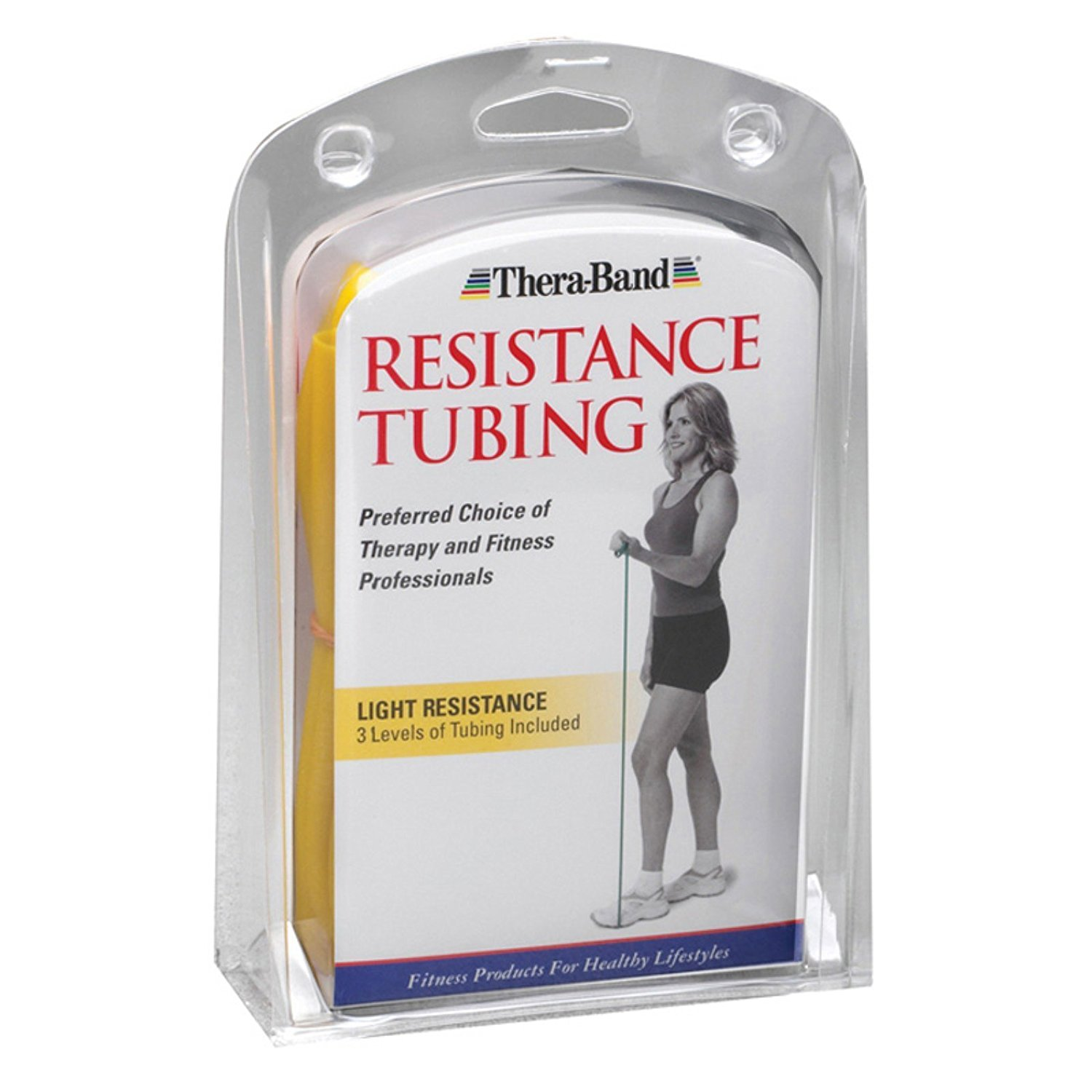 Image Of TheraBand Resistance Packs Light Resistance Yellow, Red and Green
