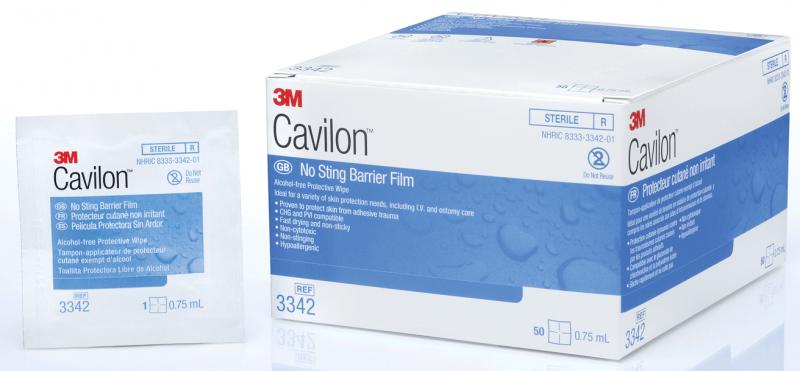 Image Of 3m Cavilon No Sting Wipes, 1.0 Ml