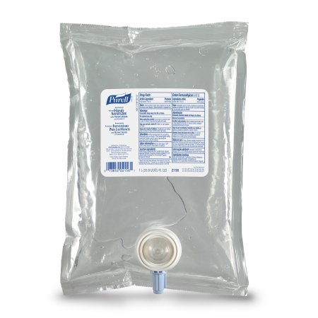 Image Of Purell Hand Sanitizer Advanced 1000 mL Alcohol Gel Dispenser Refill Bag