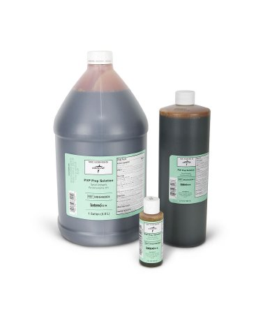 Image Of Prep Solution Betadine 4 oz. Bottle 10% Povidone-Iodine