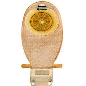 """Image Of SenSura One-Piece Wide Outlet Drainable Pouch with Integrated Wave Filter 1"""" Stoma Opening II"""