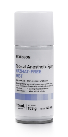 Image Of Topical Pain Relief McKesson Brand Spray 115 mL
