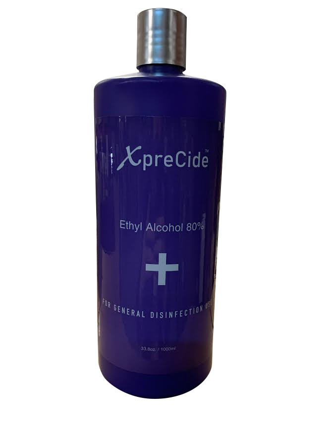 Image Of Disinfection and Sanitize Ethyl Alcohol 80% - XpreCide 32oz