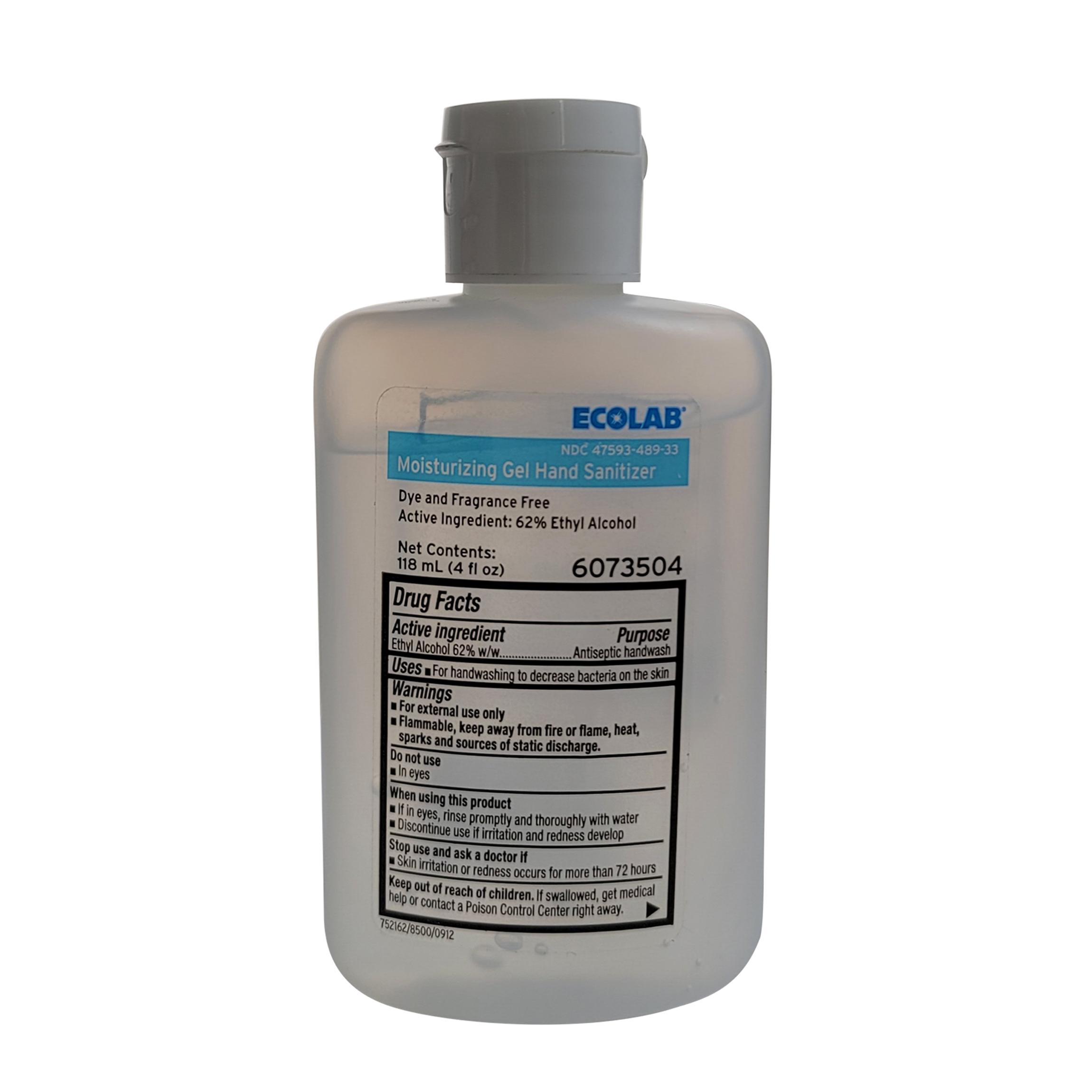 Image Of Moisturizing Gel Hand Sanitizer, 4 oz Ecolab 6073504
