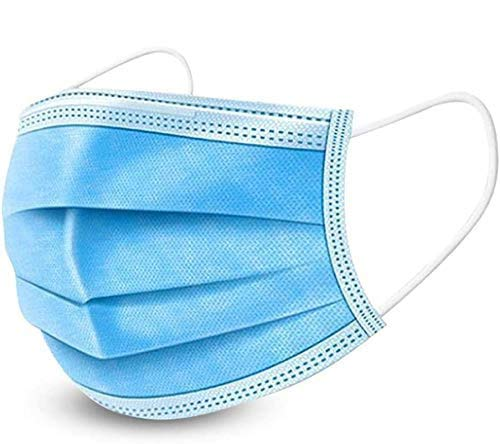 Image Of Face Mask, 3 Ply, Ear Loop Box of 50
