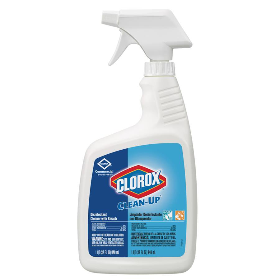 Image Of Clorox Surface Disinfectant Cleaner Clorox Clean-Up with Bleach Liquid 32 oz Bottle Chlorine Scent
