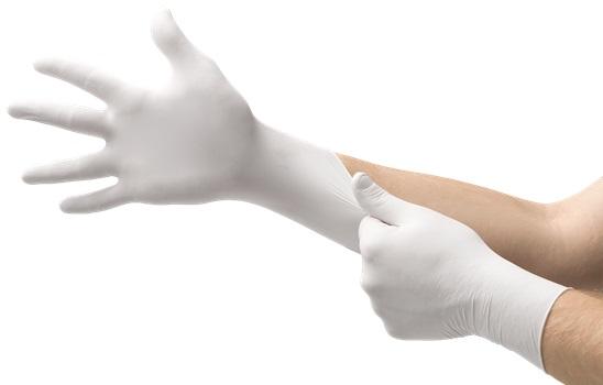 Image Of Ansel Latex Exam Gloves, Medium Box of 150