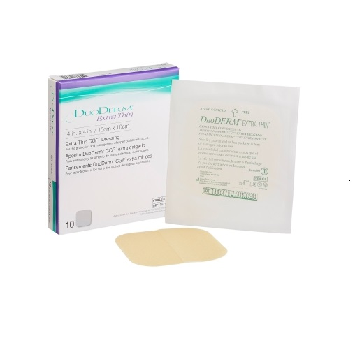 """Image Of Duoderm CGF Extra Thin Dressing, 4"""" X 4"""""""