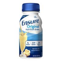 Image Of Ensure Banana Nut Shake Retail 8oz. Bottle
