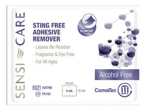 Image Of Sensi-Care Sting Free Adhesive Remover Wipe, Fragrance and Dye Free