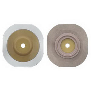 """Image Of New Image Flexwear Convex Cut-to-fit 2"""" Skin Barrier with Flange and Tape, Box of 5"""