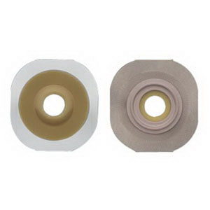 Image Of New Image Flexwear Convex Skin Barrier with Flange and Tape, Pre-sized, 7/8""
