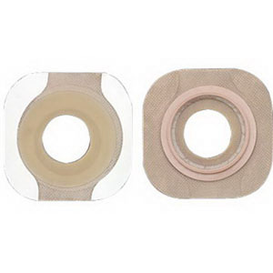"""Image Of New Image Flextend Skin Barrier with 2 1/4"""" Flange and Tape, 1 1/2"""""""