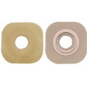 "Image Of New Image Flexwear Skin Barrier with 1 3/4"" Flange, without Tape, 1 1/8"""