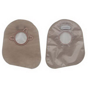 """Image Of New Image Closed End Mini Pouch with Filter, 1 3/4"""" Flange, Transparent, Box of 60"""