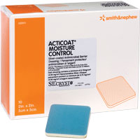 """Image Of ACTICOAT Moisture Control Antimicrobial Dressing, 4"""" x 4"""""""