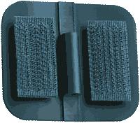 """Image Of Unipatch Carbon Rubber Electrodes, 1 1/2""""x1 3/4"""",4"""
