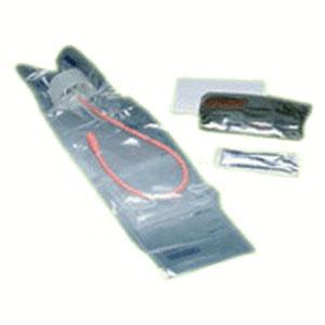 Image Of TOUCHLESS Female Red Rubber Intermittent Catheter Kit 14 Fr 1100 mL
