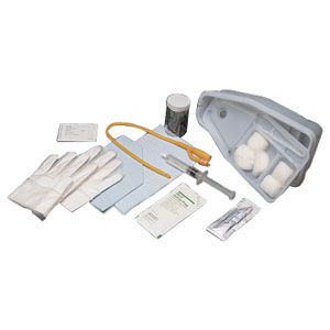 Image Of Bi-Level Universal Tray with 30 cc Pre-Filled Syringe