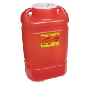 Image Of Guardian One-Piece Sharps Collector System,5 Gal.