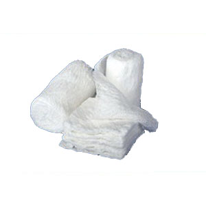 Image Of Caring Sterile Cotton Gauze Bandage Rolls, 6-ply, 100% cotton