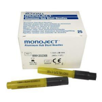 """Image Of Blunt Cannula 19g X 1 1/2"""",Sterile, 25/Box"""