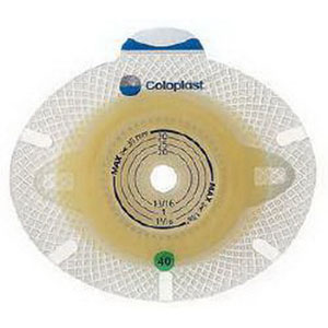 "Image Of Coloplast SenSura Click Xpro Double Layer Adhesive 3/8"" to 1-3/4"" Stoma Opening"