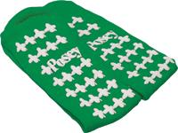 Image Of Posey Fall Management Men's Socks Standard, Green, Non-skid Footwear, Latex-frees