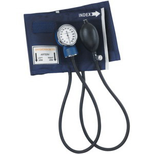 Image Of Mabis Economy Aneroid Sphygmomanometer, Latex-Free, Adult