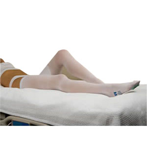 Image Of T.E.D. Thigh Length Anti-Embolism Stockings, X-Large, White