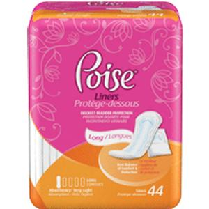 Image Of Poise Pantyliners Very Light Extra Coverage