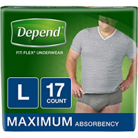 Image Of Depend Men's Fit-Flex Max, Large, REPLACES 6943587