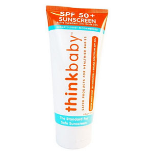 Image Of Thinkbaby Safe Sunscreen SPF 50+, 6 oz