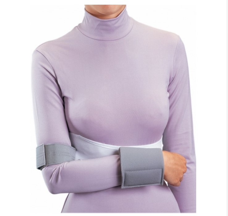 Image Of Shoulder Immobilizer PROCARE Large Elastic Contact Closure Left or Right Arm