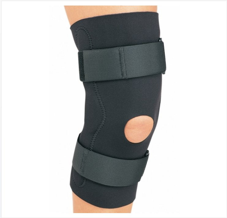 Image Of Knee Support PROCARE Medium Hook and Loop Closure Left or Right Knee