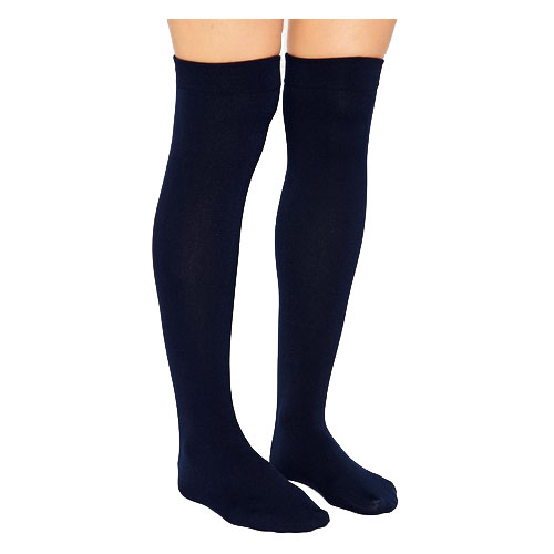 Image Of Ambition Knee-High, 30-40, Regular, Navy, Size 3