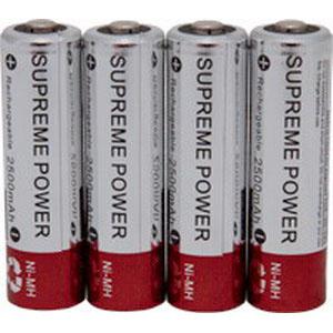 Image Of External Infusion Pump AA Alkaline 1.5v Battery, 4/Pkg