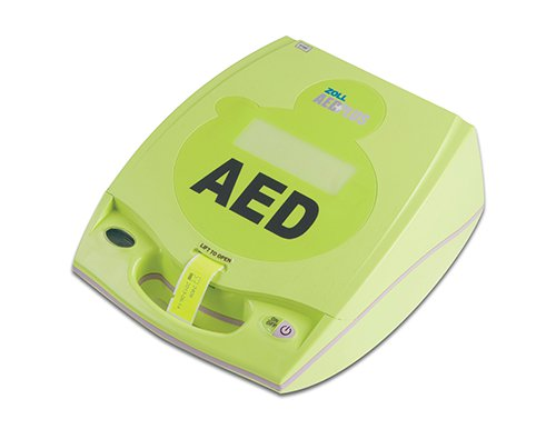 Image Of Automated External Defibrillator Package AED Plus Electrode