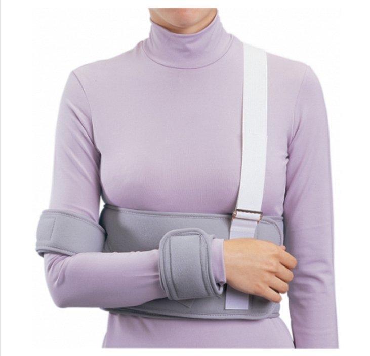 Image Of Shoulder / Arm Immobilizer PROCARE Universal Fiber Laminate Contact Closure Left or Right Arm