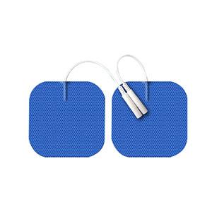 "Image Of Econotens (48x48mm) White Fabric Carbon Plastic Ziplock, 2"" x 2"" Square"