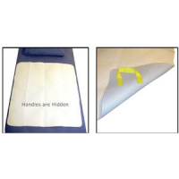 """Image Of SafetySure MovEase Underpad with Handles Standard Size, 36"""" L x 34"""" W, 3-Ply Fabric"""