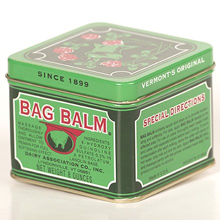 Image Of Moisturizer Bag Balm 8 oz Canister Scented Ointment