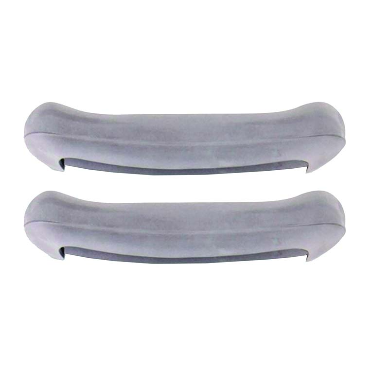 Image Of Replacement Arm Crutch Pads for 8115 and 8120 Crutches, Gray