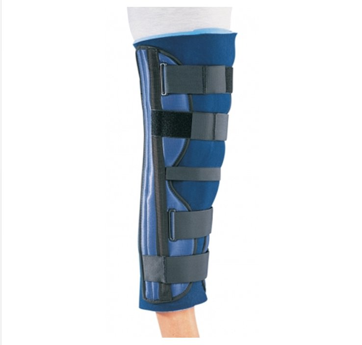 Image Of Knee Immobilizer PROCARE One Size Fits Most Contact Closure 20 Inch Length Left or Right Knee