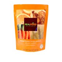 Image Of Real Food Blends Tube-Fed Meals 267g Orange Chicken, Carrots and Brown Rice