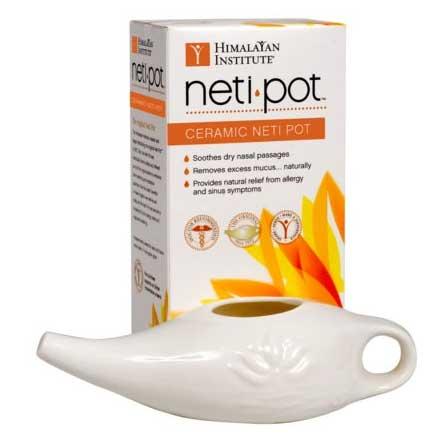 Image Of Himalayan Institute Neti Pot, 6 oz