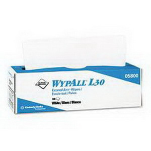 """Image Of Wypall X60 Teri Wipers, Pop-Up Box, 9.1"""" x 16.8"""""""