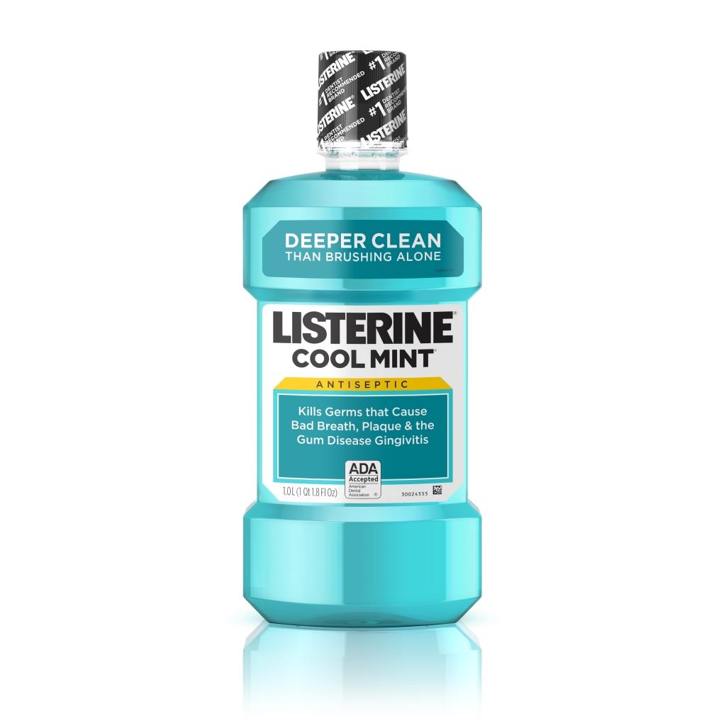 Image Of Listerine Antiseptic Mouthwash, Cool Mint, 8.5 fl oz