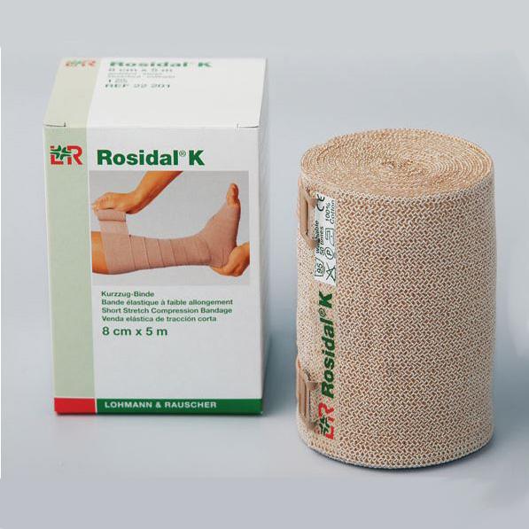 """Image Of Rosidal K Short Stretch Bandage, 4.7"""" X 5.5 yds."""